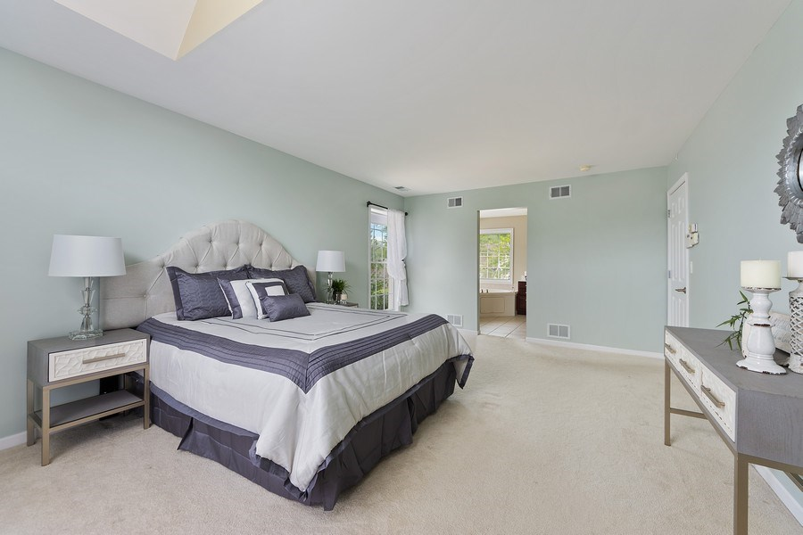 Real Estate Photography - 711 N Arlington Heights Rd., Arlington Heights, IL, 60004 - Master Bedroom