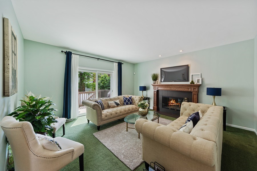 Real Estate Photography - 711 N Arlington Heights Rd., Arlington Heights, IL, 60004 - Family Room