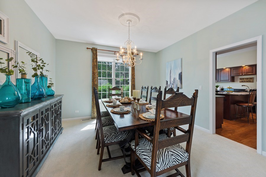 Real Estate Photography - 711 N Arlington Heights Rd., Arlington Heights, IL, 60004 - Dining Room