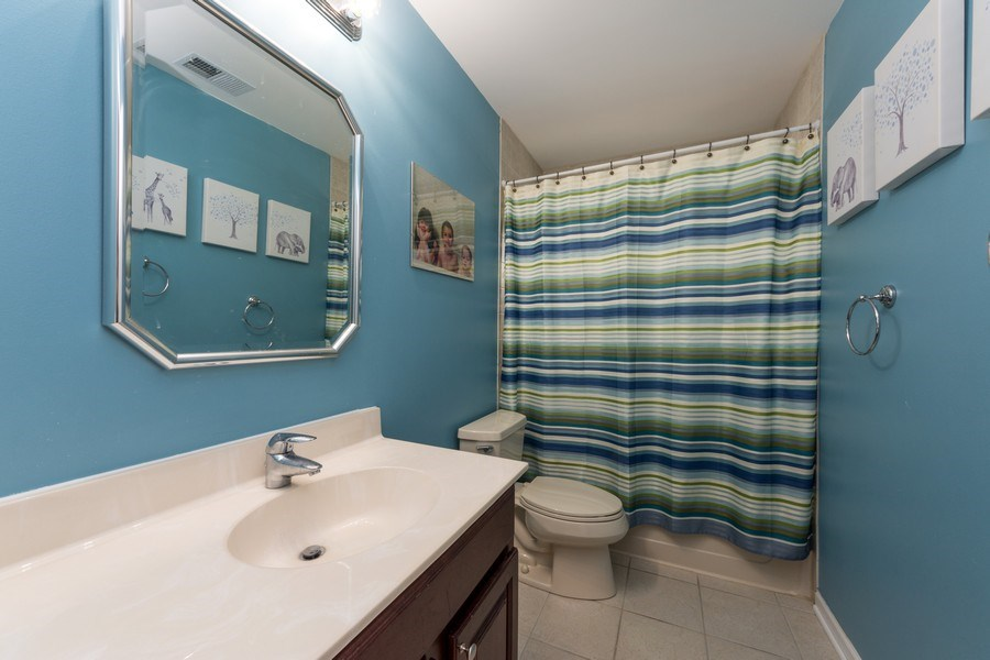 Real Estate Photography - 711 N Arlington Heights Rd., Arlington Heights, IL, 60004 - 2nd Bathroom