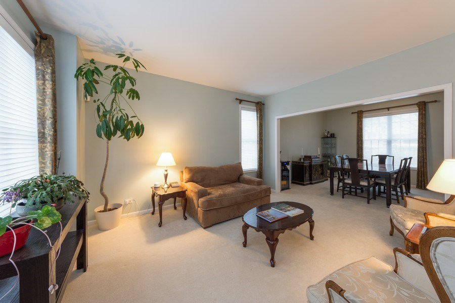 Real Estate Photography - 711 N Arlington Heights Rd., Arlington Heights, IL, 60004 - Living Room / Dining Room