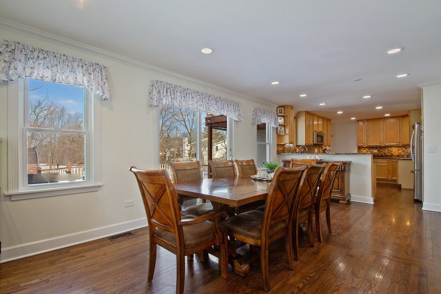 Real Estate Photography - 3508 Countryside Ln, Glenview, IL, 60025 - Breakfast Area