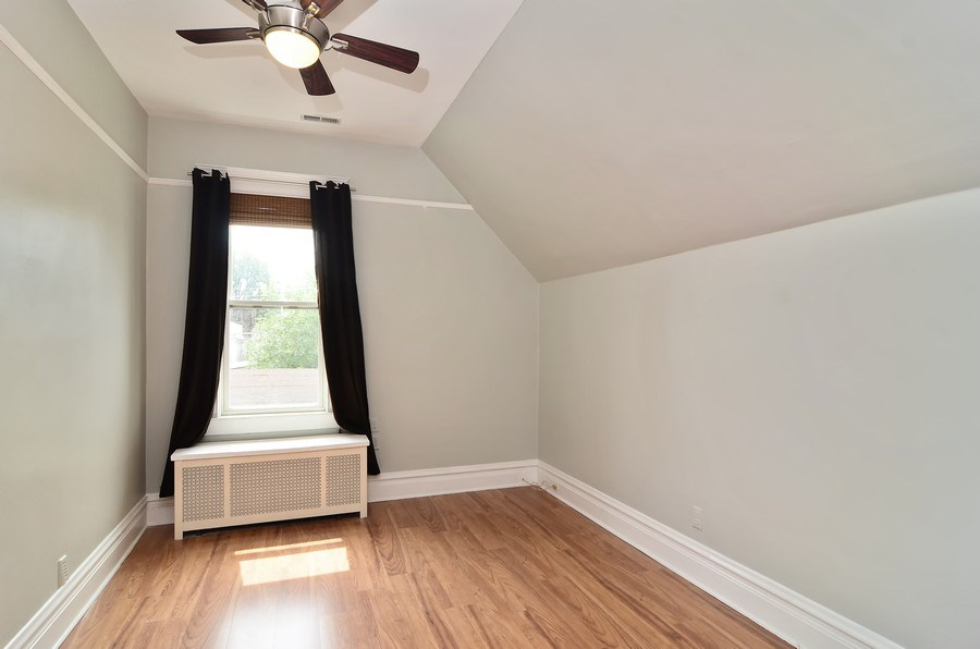Real Estate Photography - 2129 W. Bradley, Chicago, IL, 60618 - 2nd Bedroom