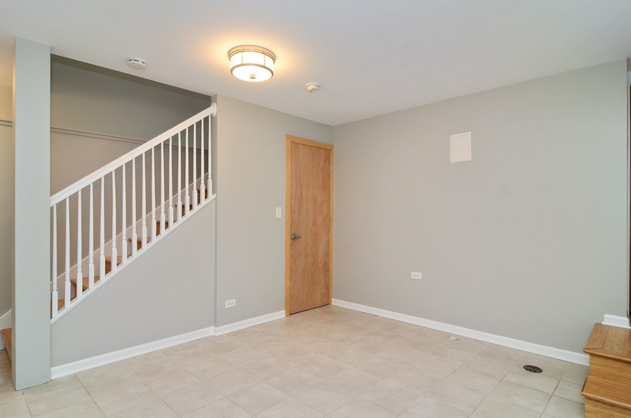 Real Estate Photography - 2129 W. Bradley, Chicago, IL, 60618 - Lower Level