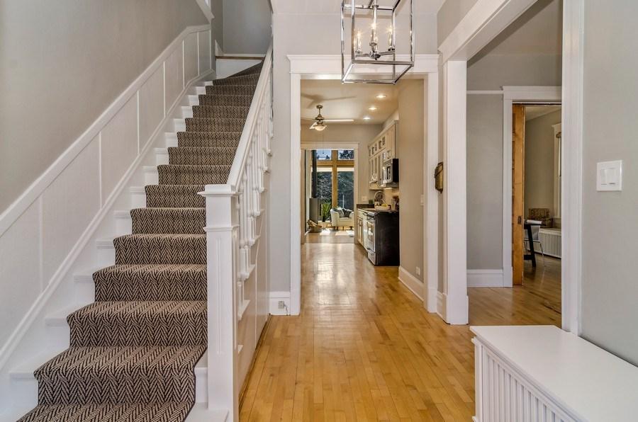 Real Estate Photography - 2129 W. Bradley, Chicago, IL, 60618 - Foyer