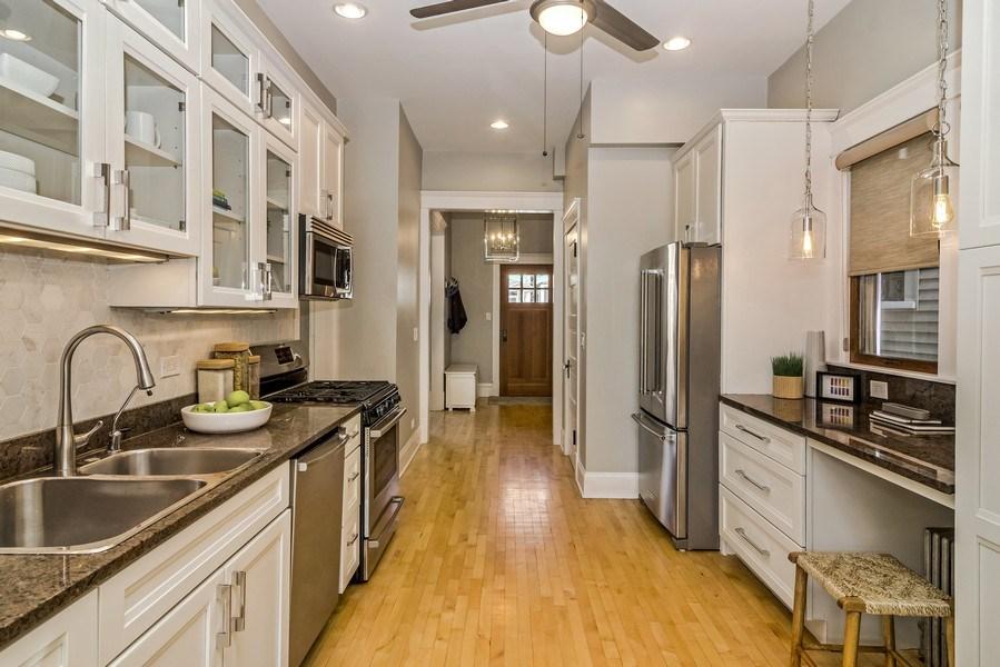 Real Estate Photography - 2129 W. Bradley, Chicago, IL, 60618 - Kitchen