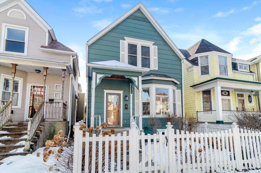 Real Estate Photography - 2129 W. Bradley, Chicago, IL, 60618 - Front View
