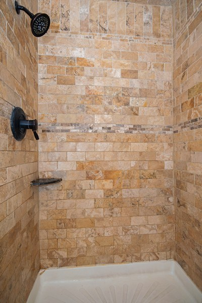 Real Estate Photography - 2201 S. Highland Ave. #3G, Lombard, IL, 60148 - Master Bathroom