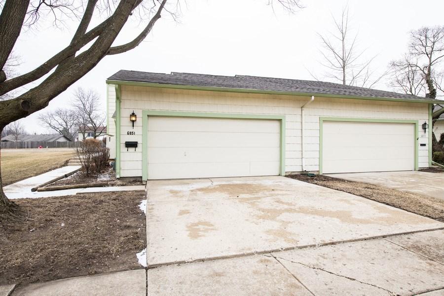Real Estate Photography - 6851 Larkspur, Woodridge, IL, 60517 - Garage