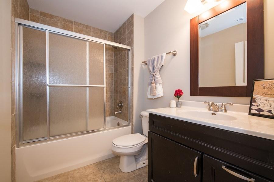 Real Estate Photography - 6851 Larkspur, Woodridge, IL, 60517 - Bathroom