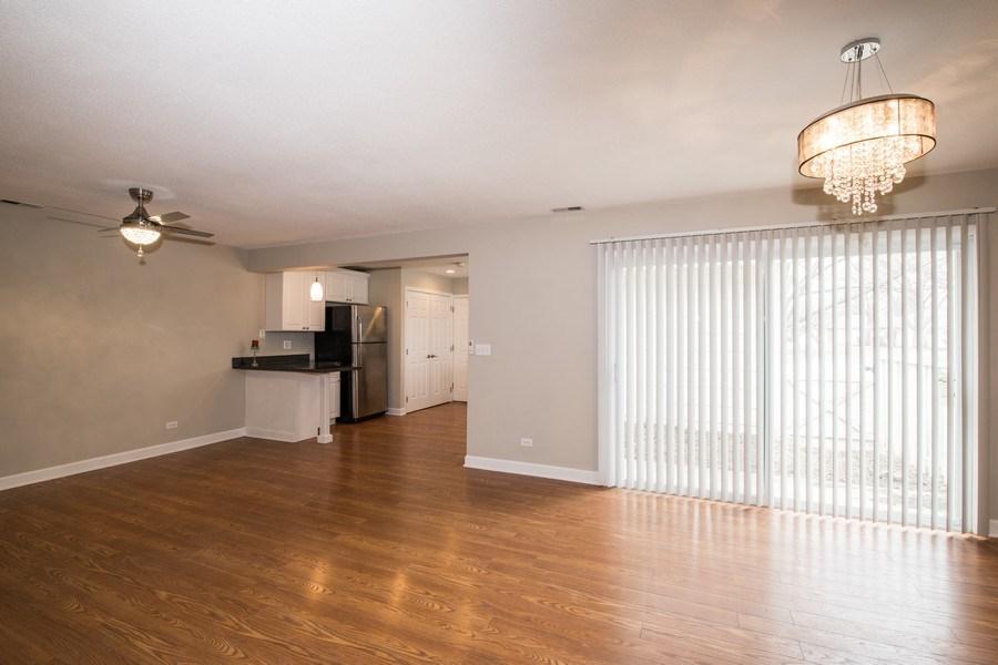 Real Estate Photography - 6851 Larkspur, Woodridge, IL, 60517 - Living Room / Dining Room