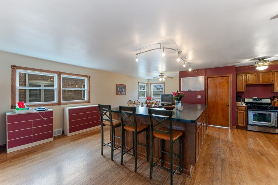 Real Estate Photography - 10104 S Washtenaw, Chicago, IL, 60655 - Kitchen / Dining Room