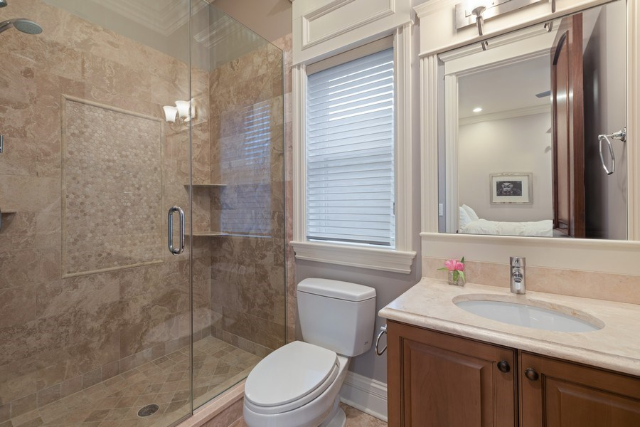 Real Estate Photography - 2153 W Cornelia Ave, Chicago, IL, 60618 - 3rd Bathroom