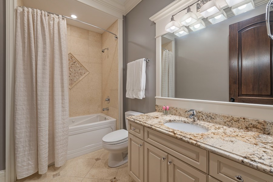 Real Estate Photography - 2153 W Cornelia Ave, Chicago, IL, 60618 - 4th Bathroom