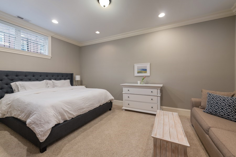 Real Estate Photography - 2153 W Cornelia Ave, Chicago, IL, 60618 - Guest Bedroom