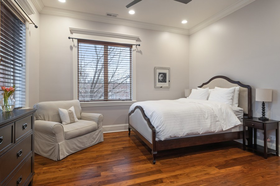 Real Estate Photography - 2153 W Cornelia Ave, Chicago, IL, 60618 - 3rd Bedroom