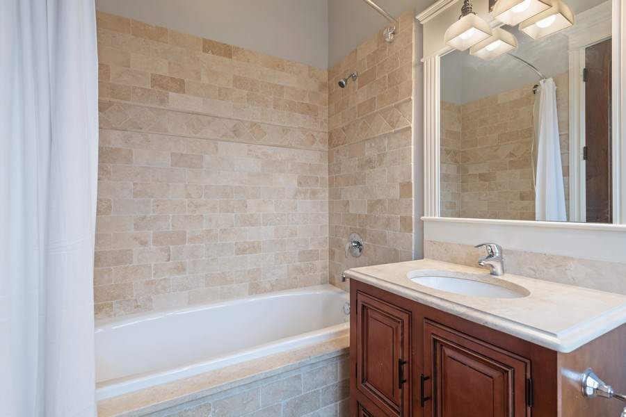 Real Estate Photography - 2153 W Cornelia Ave, Chicago, IL, 60618 - Bathroom