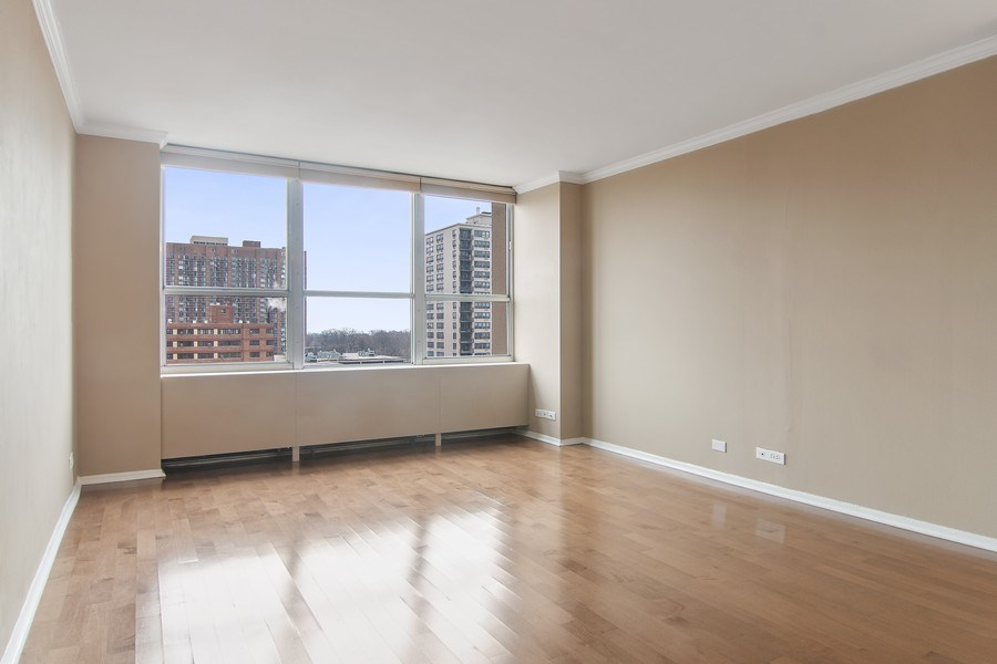 Real Estate Photography - 655 W Irving Park Rd, Unit 910, Chicago, IL, 60613 - Master Bedroom