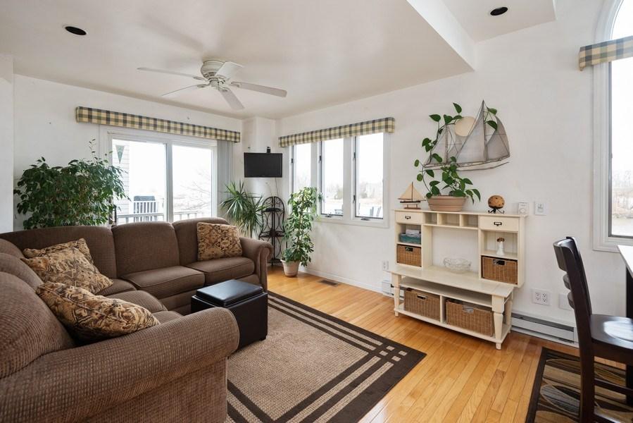 Real Estate Photography - 44 Landings Blvd, New Buffalo, MI, 49117 - Living Room