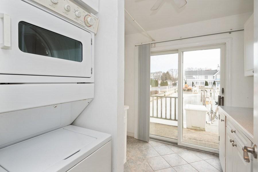 Real Estate Photography - 44 Landings Blvd, New Buffalo, MI, 49117 - Laundry Room