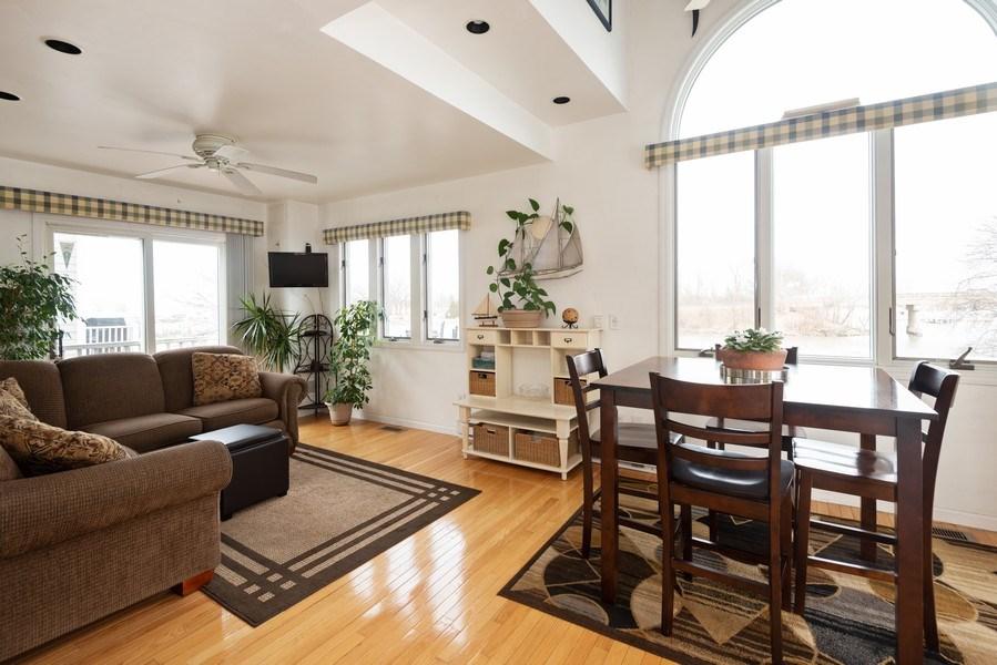 Real Estate Photography - 44 Landings Blvd, New Buffalo, MI, 49117 - Living Room / Dining Room