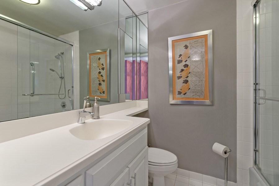 Real Estate Photography - 5701 N Sheridan, Unit 8F, Chicago, IL, 60660 - Bathroom
