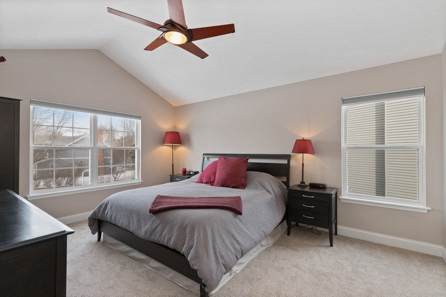 Real Estate Photography - 291 Galway, Grayslake, IL, 60030 - Master Bedroom