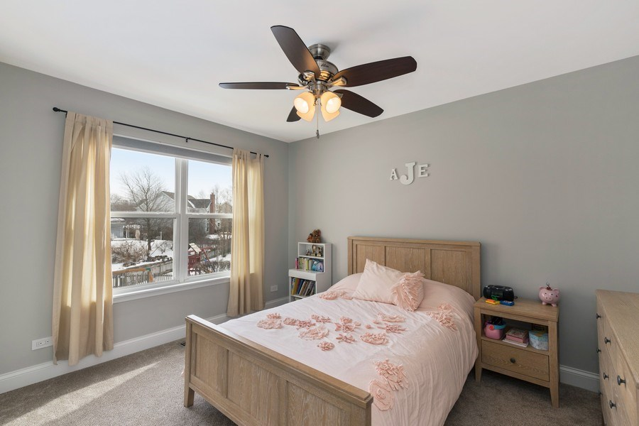 Real Estate Photography - 291 Galway, Grayslake, IL, 60030 - 2nd Bedroom