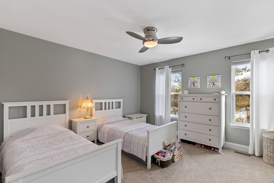 Real Estate Photography - 291 Galway, Grayslake, IL, 60030 - 3rd Bedroom