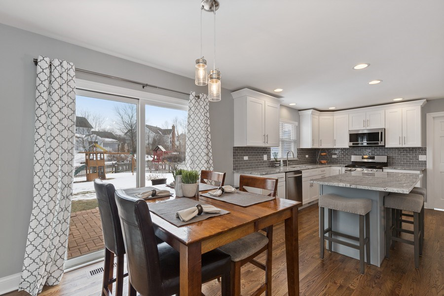 Real Estate Photography - 291 Galway, Grayslake, IL, 60030 - Kitchen / Breakfast Room