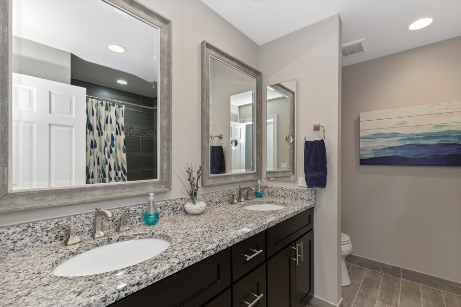 Real Estate Photography - 291 Galway, Grayslake, IL, 60030 - Bathroom