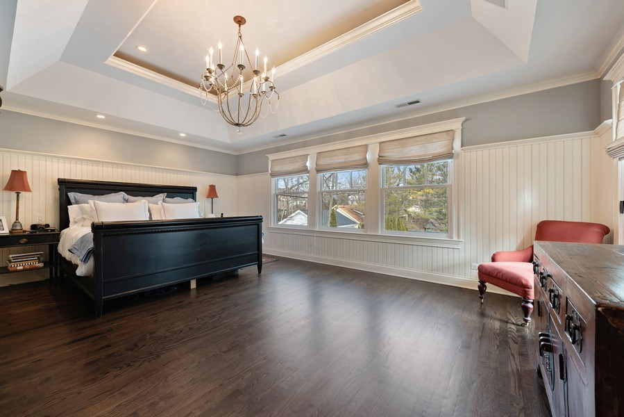 Real Estate Photography - 463 Provident Ave, Winnetka, IL, 60093 - Master Bedroom