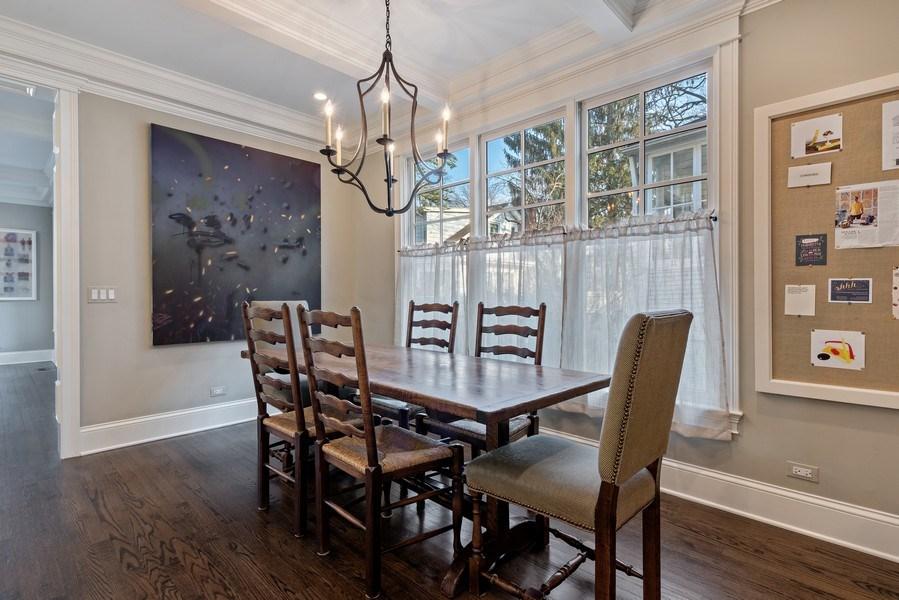 Real Estate Photography - 463 Provident Ave, Winnetka, IL, 60093 - Breakfast Area