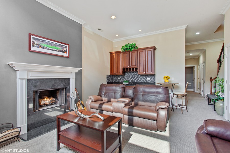 Real Estate Photography - 2444 W Diversey Ave, Unit 1W, Chicago, IL, 60647 -
