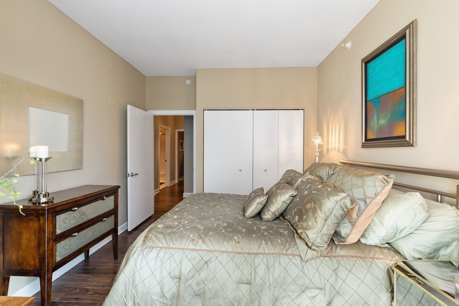 Real Estate Photography - 1201 S Prairie, 3101, Chicago, IL, 60605 - 3rd Bedroom