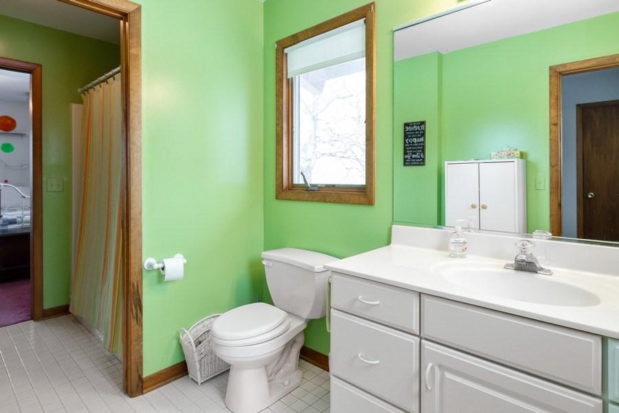 Real Estate Photography - 3106 N Richmond Road, Johnsburg, IL, 60051 - Bathroom