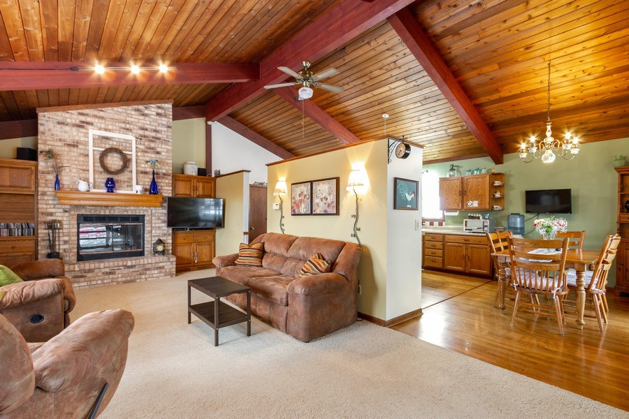 Real Estate Photography - 3106 N Richmond Road, Johnsburg, IL, 60051 - Living Room / Dining Room
