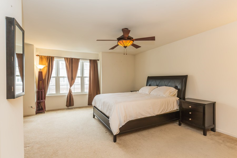 Real Estate Photography - 1979 Fountain Grass Circle, Bartlett, IL, 60103 - Master Bedroom