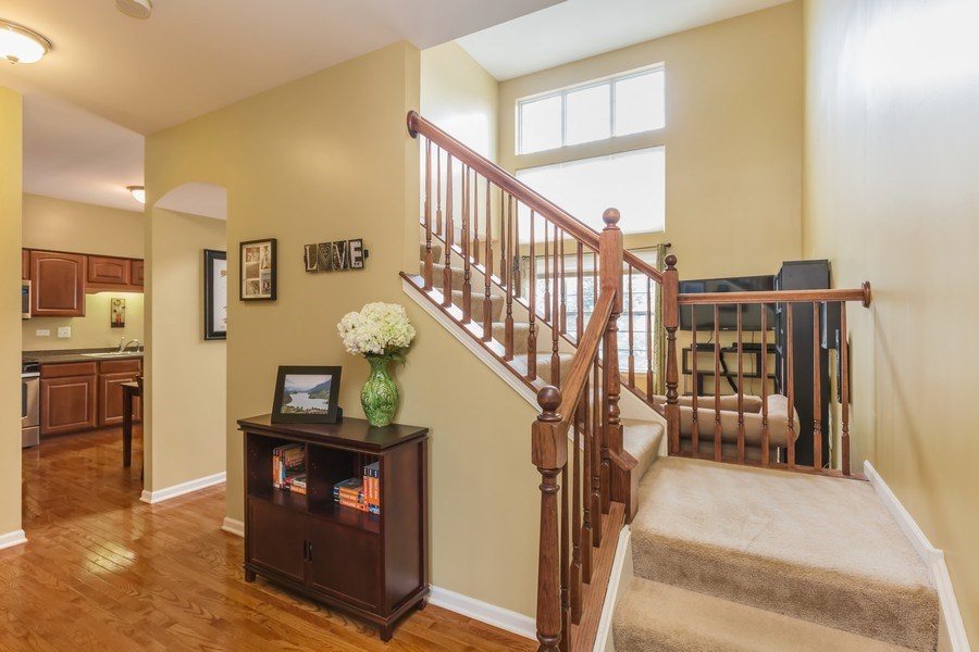 Real Estate Photography - 1979 Fountain Grass Circle, Bartlett, IL, 60103 - Foyer
