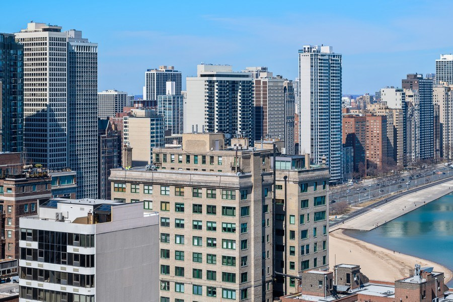 Real Estate Photography - 260 E. Chestnut Street, Unit #3206, Chicago, IL, 60611 - City View