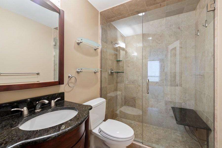 Real Estate Photography - 260 E. Chestnut Street, Unit #3206, Chicago, IL, 60611 - Master Bathroom