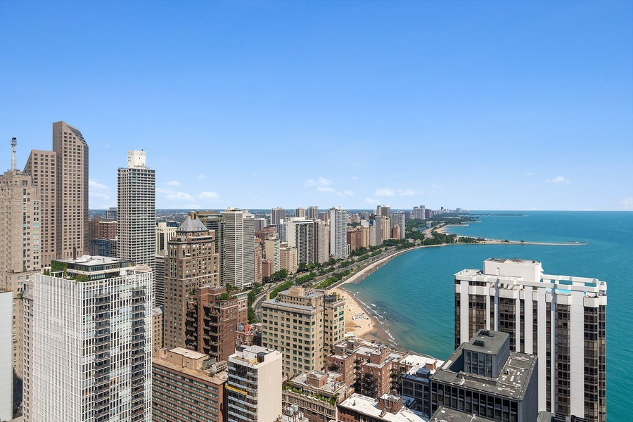 Real Estate Photography - 260 E. Chestnut Street, Unit #3206, Chicago, IL, 60611 - View From Community Room