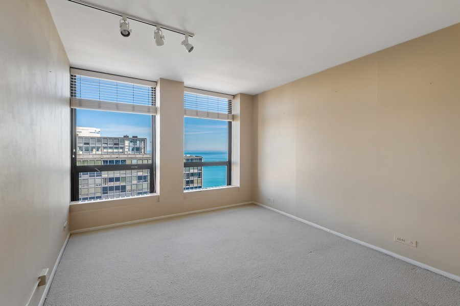 Real Estate Photography - 260 E. Chestnut Street, Unit #3206, Chicago, IL, 60611 - 2nd Bedroom