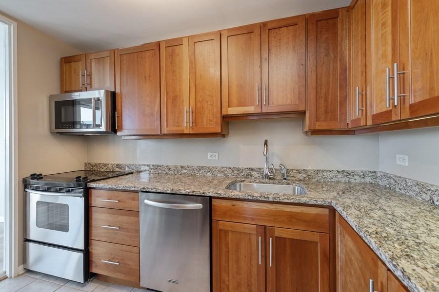 Real Estate Photography - 260 E. Chestnut Street, Unit #3206, Chicago, IL, 60611 - Kitchen