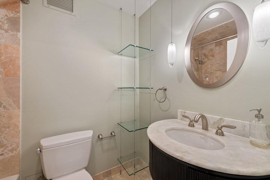 Real Estate Photography - 260 E. Chestnut Street, Unit #3206, Chicago, IL, 60611 - Bathroom