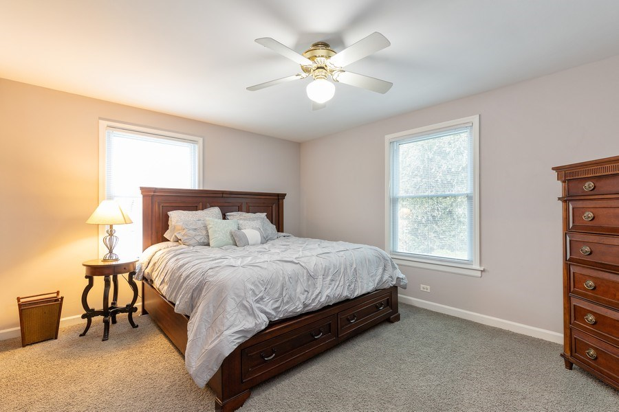 Real Estate Photography - 600 Garfield Ave, Lake Bluff, IL, 60044 - Master Bedroom