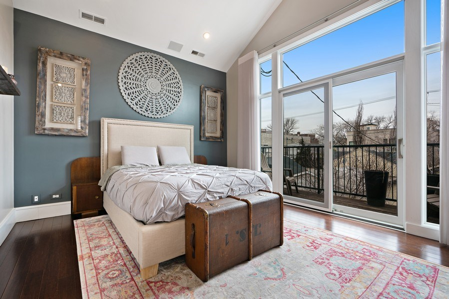 Real Estate Photography - 1720 N Paulina, Chicago, IL, 60622 - Master Bedroom