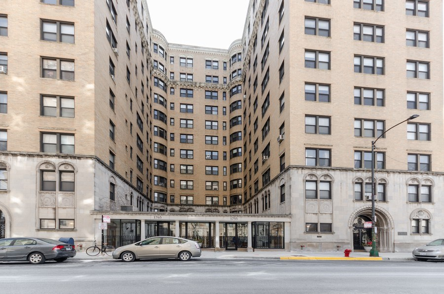 Real Estate Photography - 1755 E. 55th St., #606, Chicago, IL, 60615 - Front View