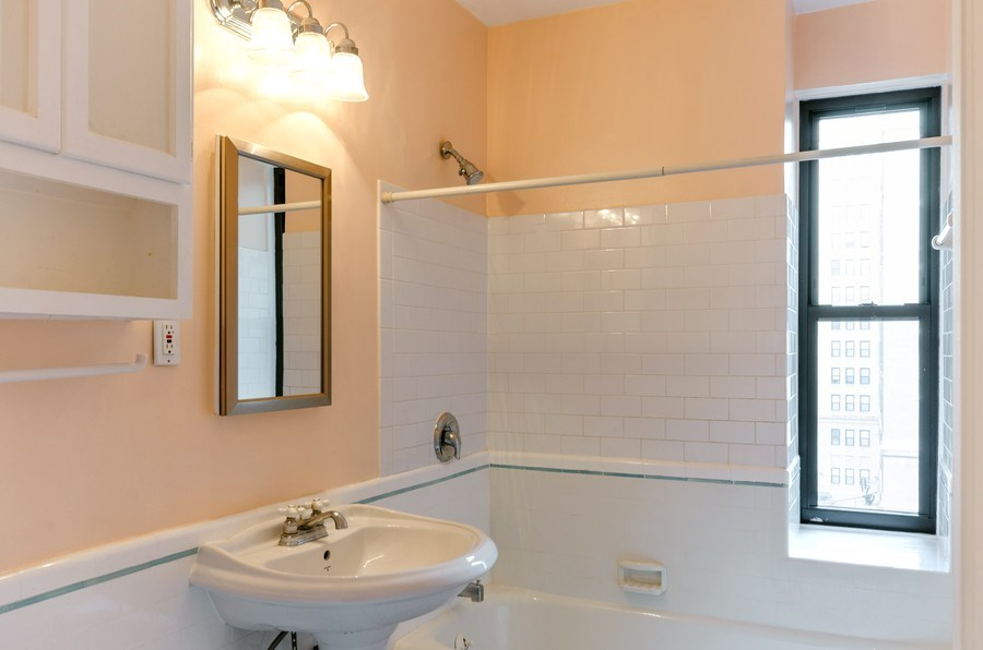 Real Estate Photography - 1755 E. 55th St., #606, Chicago, IL, 60615 - Bathroom