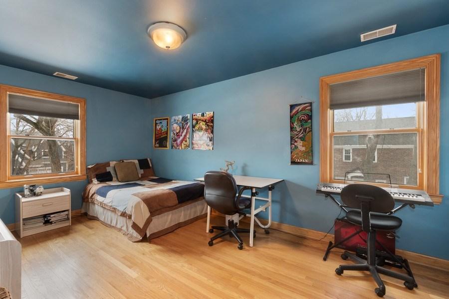 Real Estate Photography - 1238 Glencoe Avenue, Highland Park, IL, 60035 - Bedroom 3